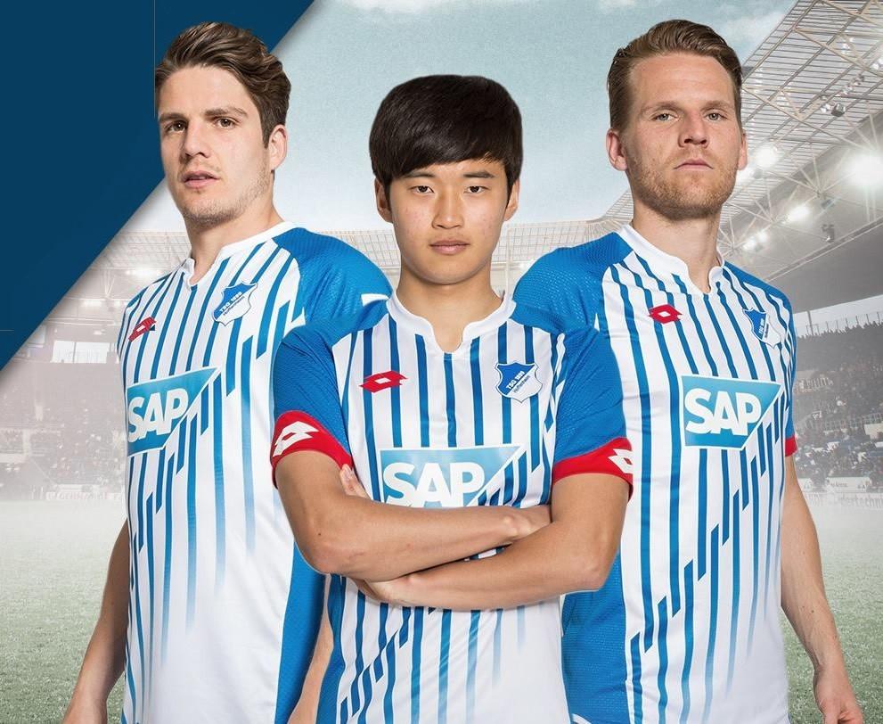Camiseta titular Lotto de Hoffenheim | Foto Tienda Oficial