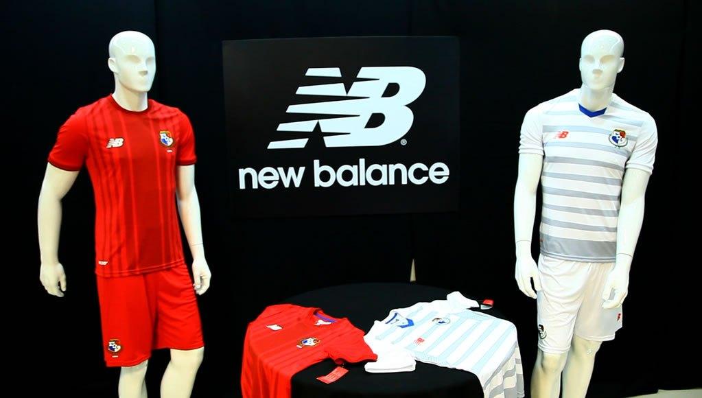 Nuevas camisetas New Balance de Panamá | Foto TV Max Panamá
