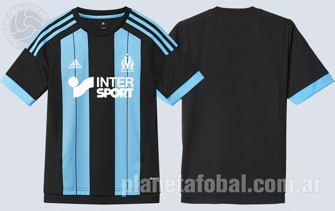 Camiseta suplente del Marsella | Imágenes Tienda Oficial