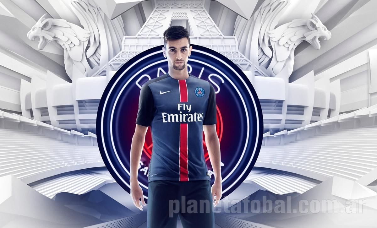 Pastore con la nueva camiseta del PSG | Foto Nike