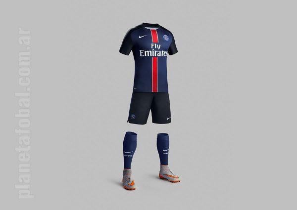 Conjunto completo del PSG para 2015/2016 | Foto Nike