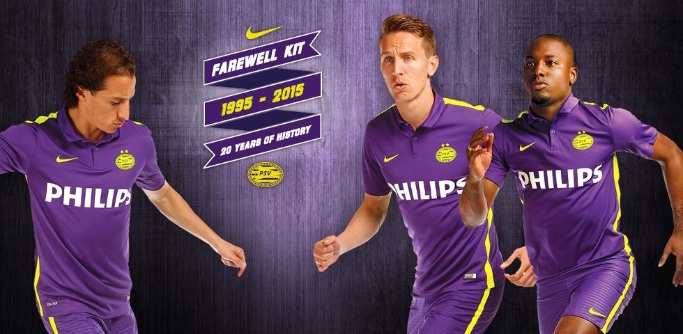 Casaca despedida Nike del PSV | Foto Web Oficial