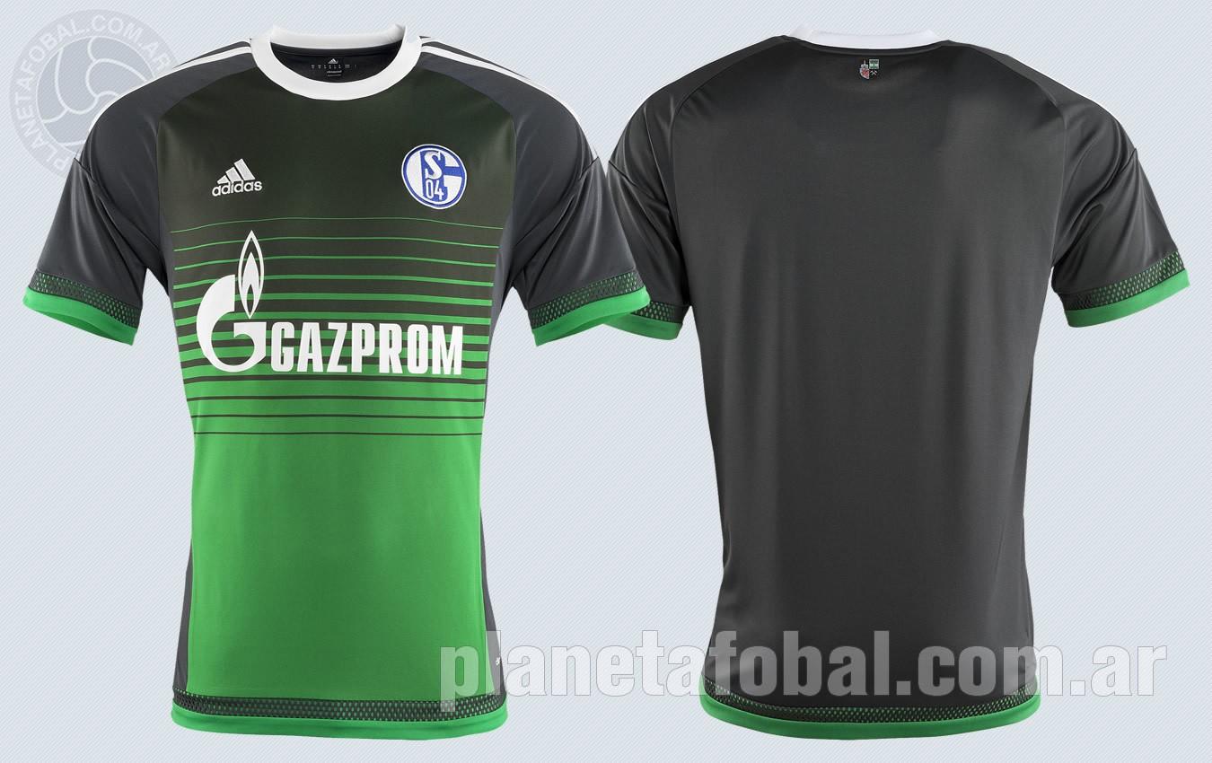 Tercera camiseta del Schalke 04 | Imágenes Web Oficial