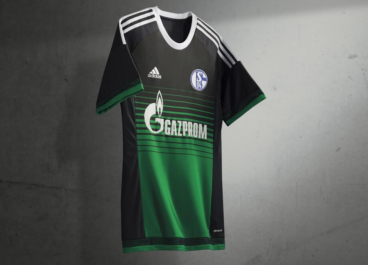 Tercera camiseta del Schalke 04 | Foto Adidas
