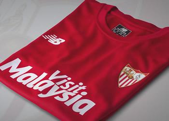 Camiseta del Sevilla para la final | Foto Web Oficial
