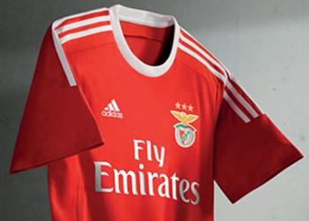 Nueva camiseta del Benfica | Foto Mais Futebol
