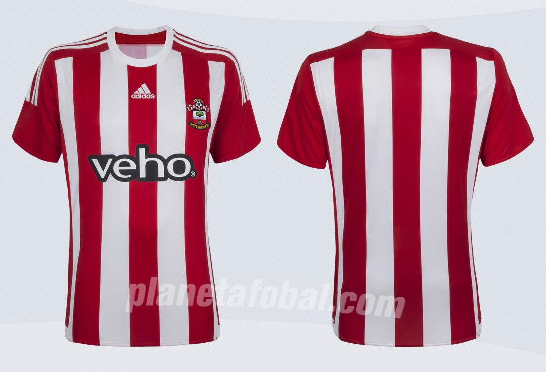 Nuevas casacas del Southampton | Imágenes Web Oficial