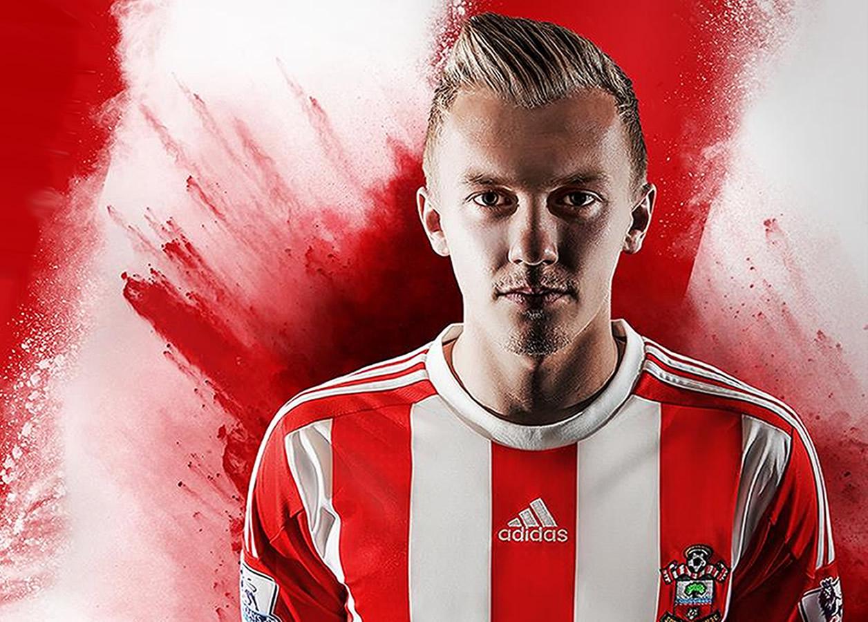 Nueva camiseta del Southampton | Foto Web Oficial