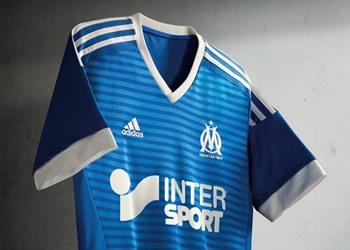 Tercera camiseta de Olympique Marsella para 2015/2016 | Foto Adidas