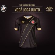 Tercera camiseta del Vasco Da Gama | Foto Umbro