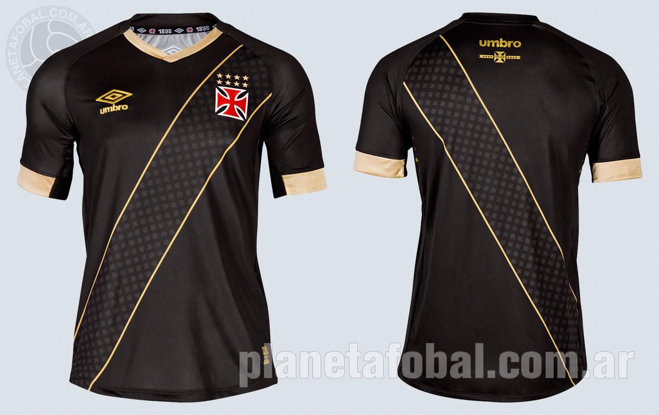 fb66cda8b6c06 Tercera camiseta Umbro del Vasco Da Gama 2015-2016