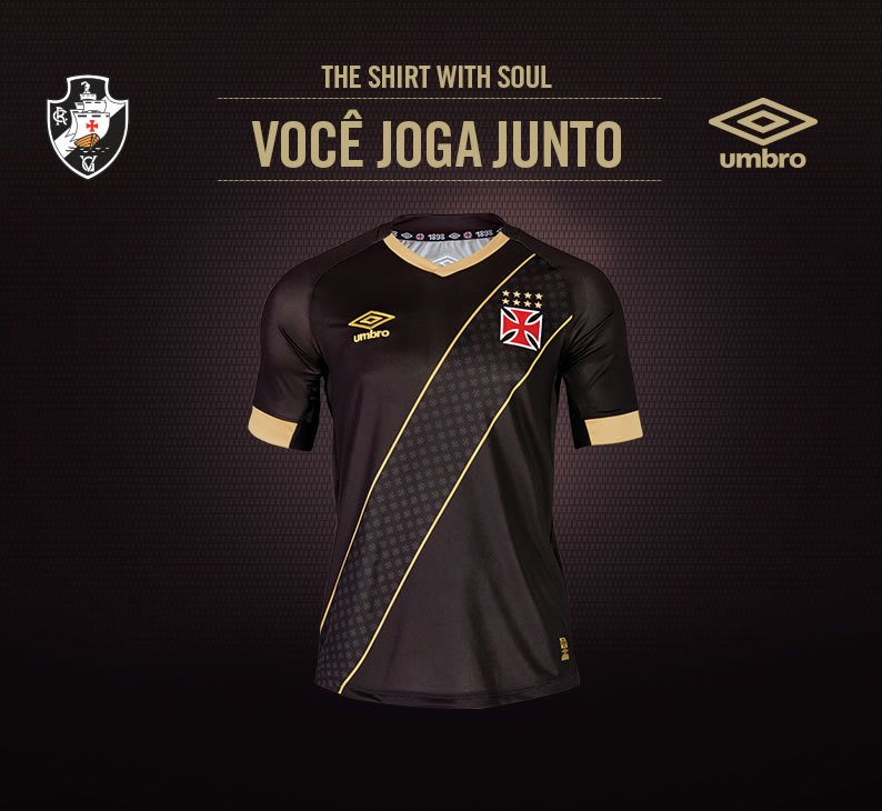 Tercera camiseta Umbro del Vasco Da Gama 2015-2016  7866ae637f6e7