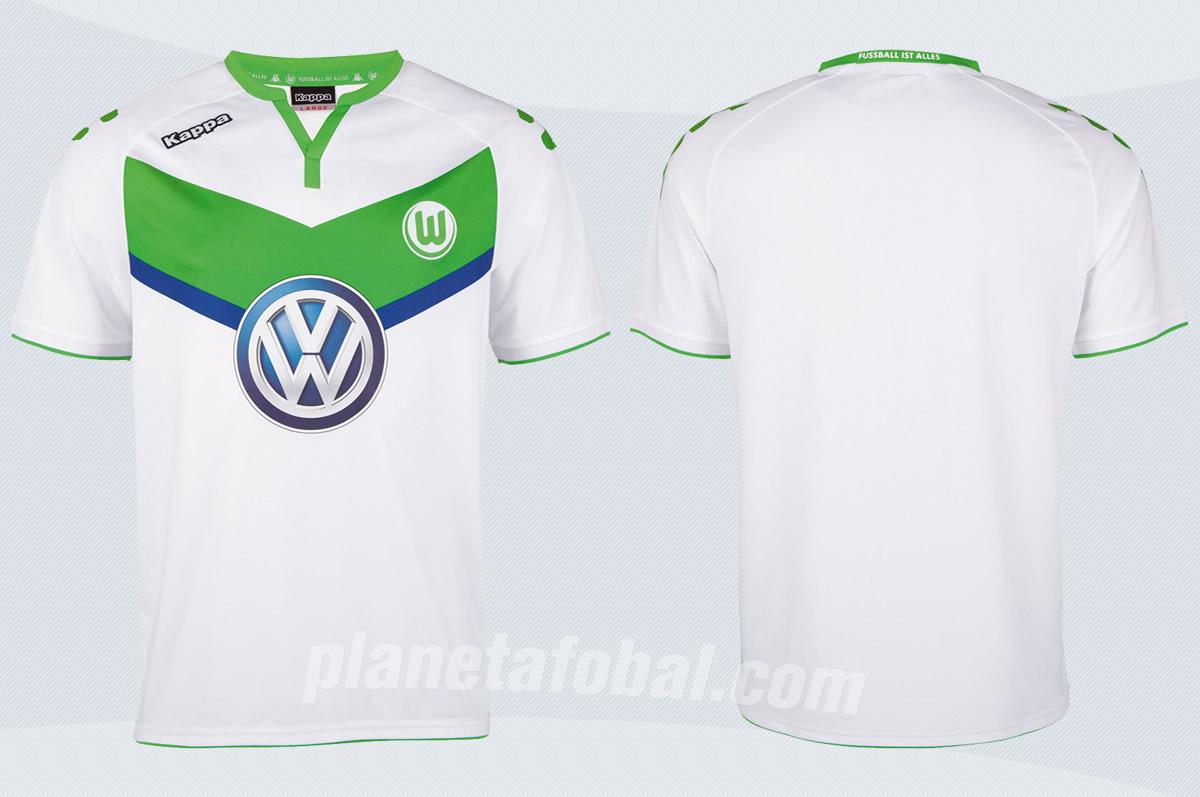 Nueva camiseta del Wolfsburg | Foto Web Oficial