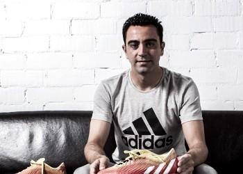 Botines exclusivos de Xavi Hernández | Foto Adidas