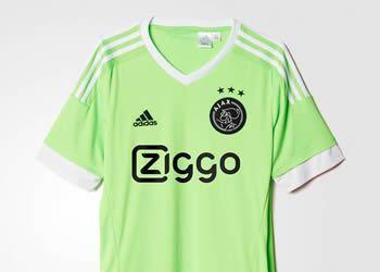 Camiseta suplente del Ajax | Imagen Adidas