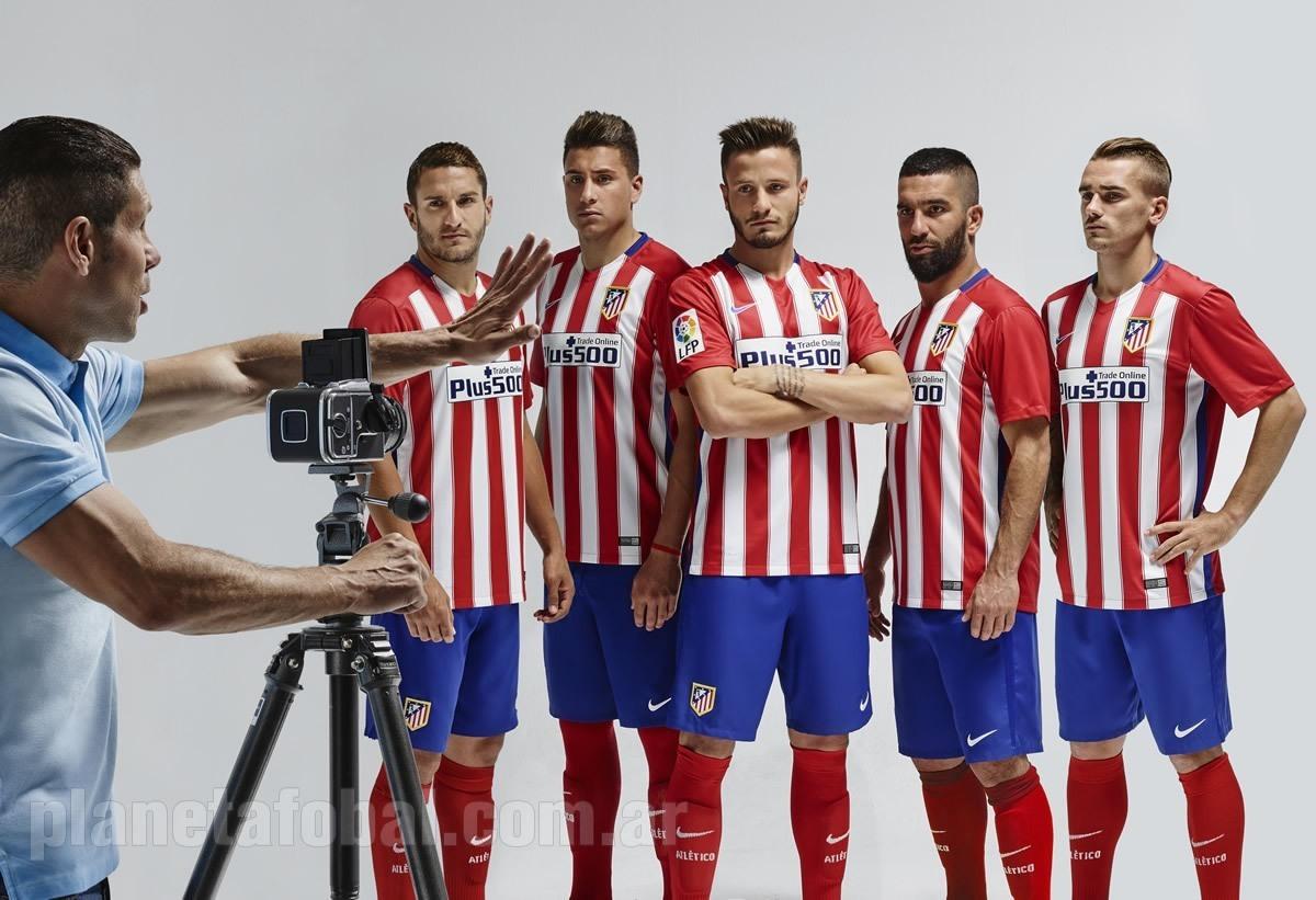 Nueva camiseta del Atlético de Madrid | Foto Nike