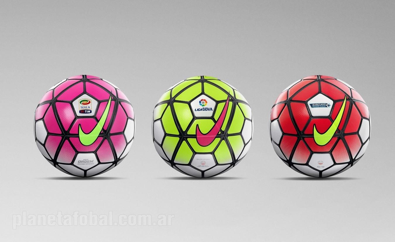Balón Nike Ordem 3 para la temporada 2015/2016 | Foto Nike