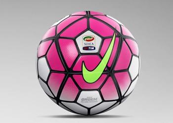 Balón Nike Ordem 3 para la Serie A de Italia 2015/2016 | Foto Nike