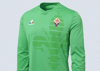 Camiseta arquero de la Fiorentina para 2015/2016   Foto Le Coq Sportif