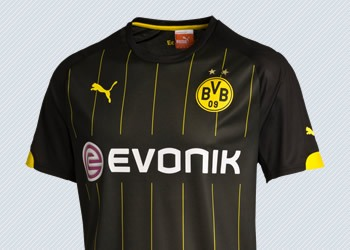 Camiseta suplente Puma de Borussia Dortmund para 2015/2016 | Foto tienda oficial