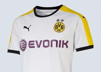 Tercera camiseta Puma de Borussia Dortmund para 2015/2016 | Imagenes tienda oficial