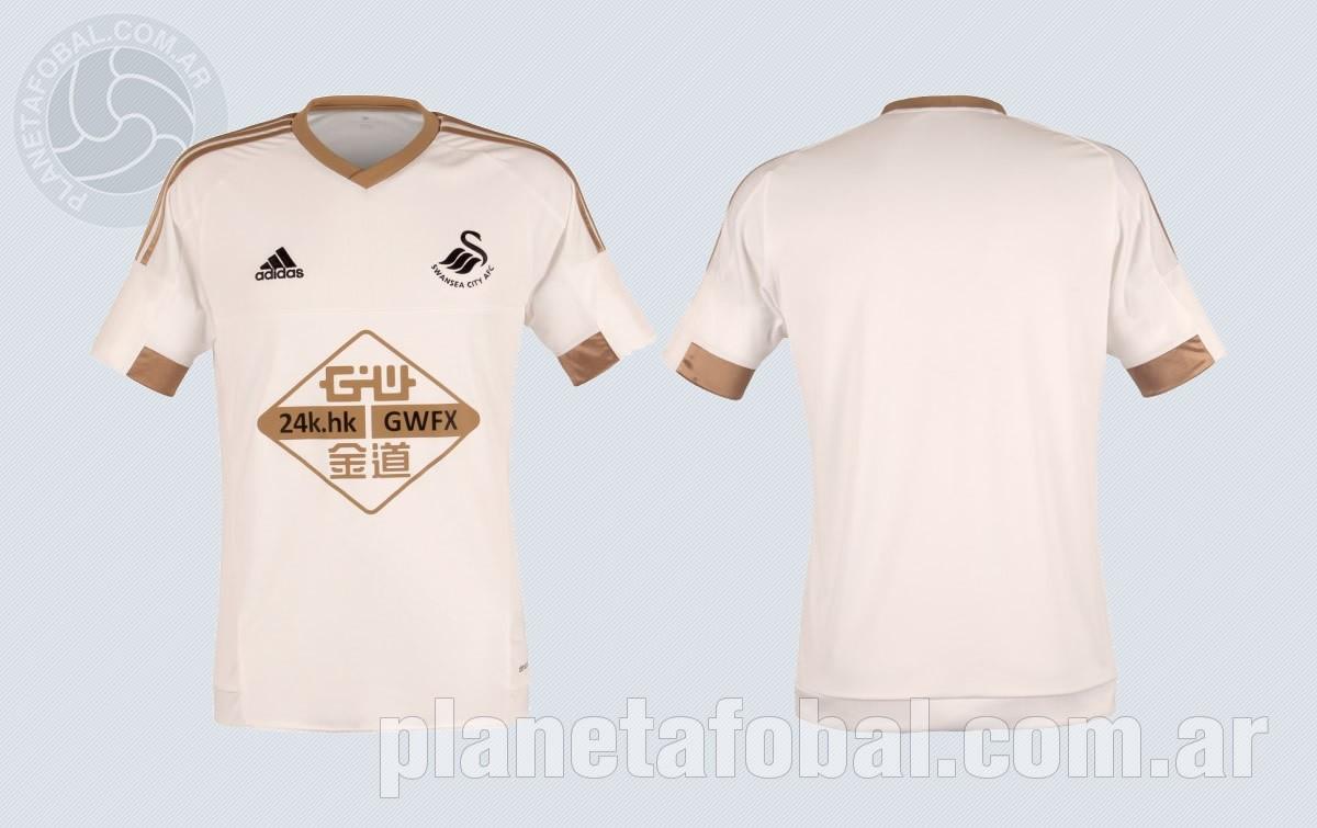 Swansea presentó su nueva camiseta titular Adidas para 2015/2016 | Imagenes Tienda Oficial