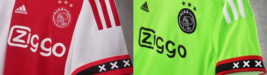 Las mangas traen la bandera de Amsterdam en su interior | Imagenes Twitter Ajax