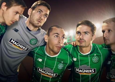 Celtic develó su casaca suplente | Foto Web Oficial