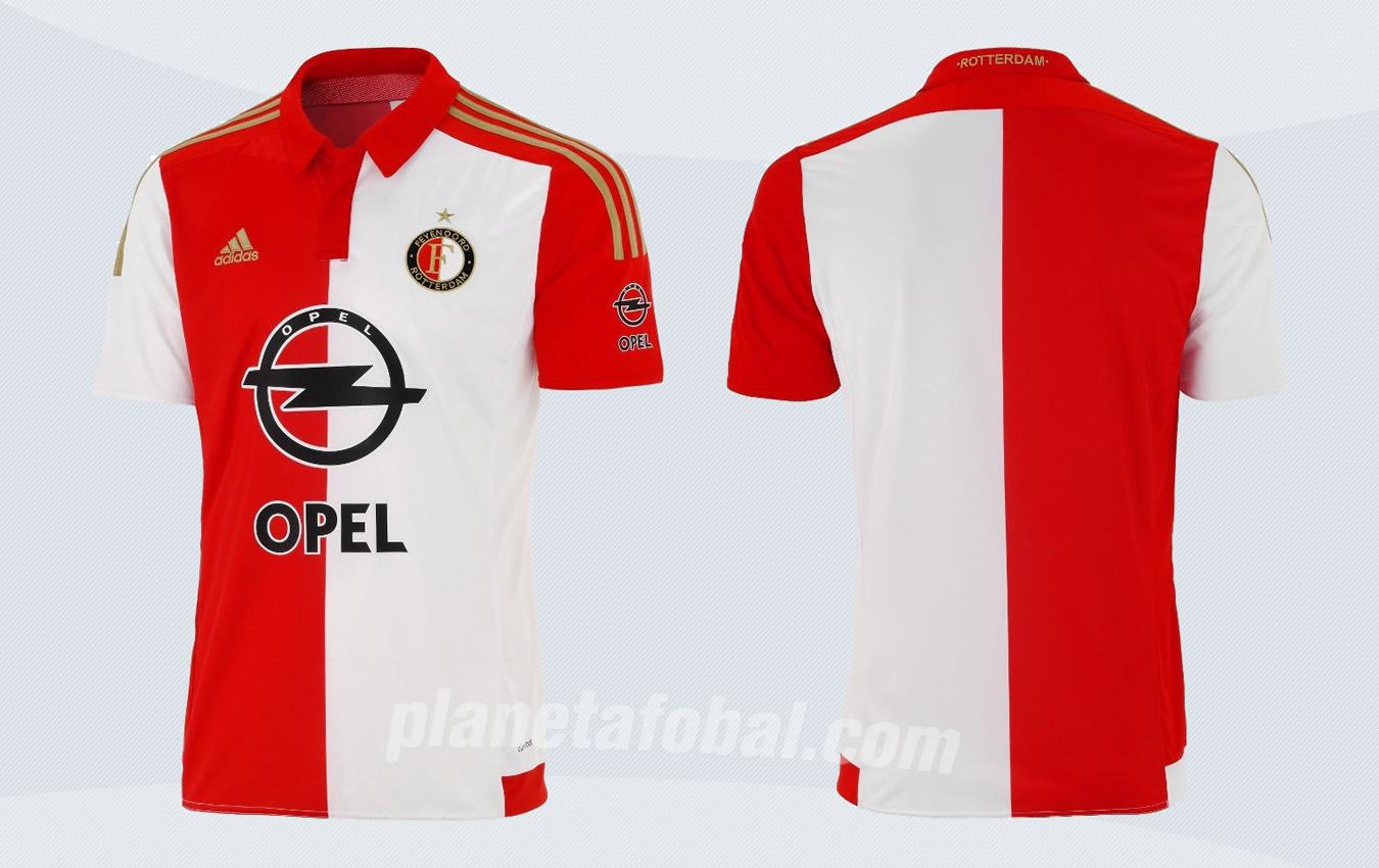 Nueva casaca del Feyenoord | Imágenes Tienda Oficial