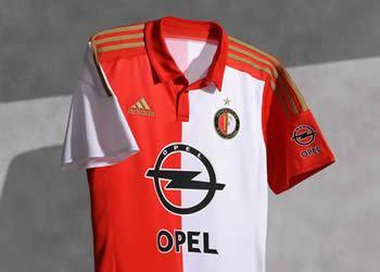 Nueva casaca del Feyenoord | Foto Web Oficial