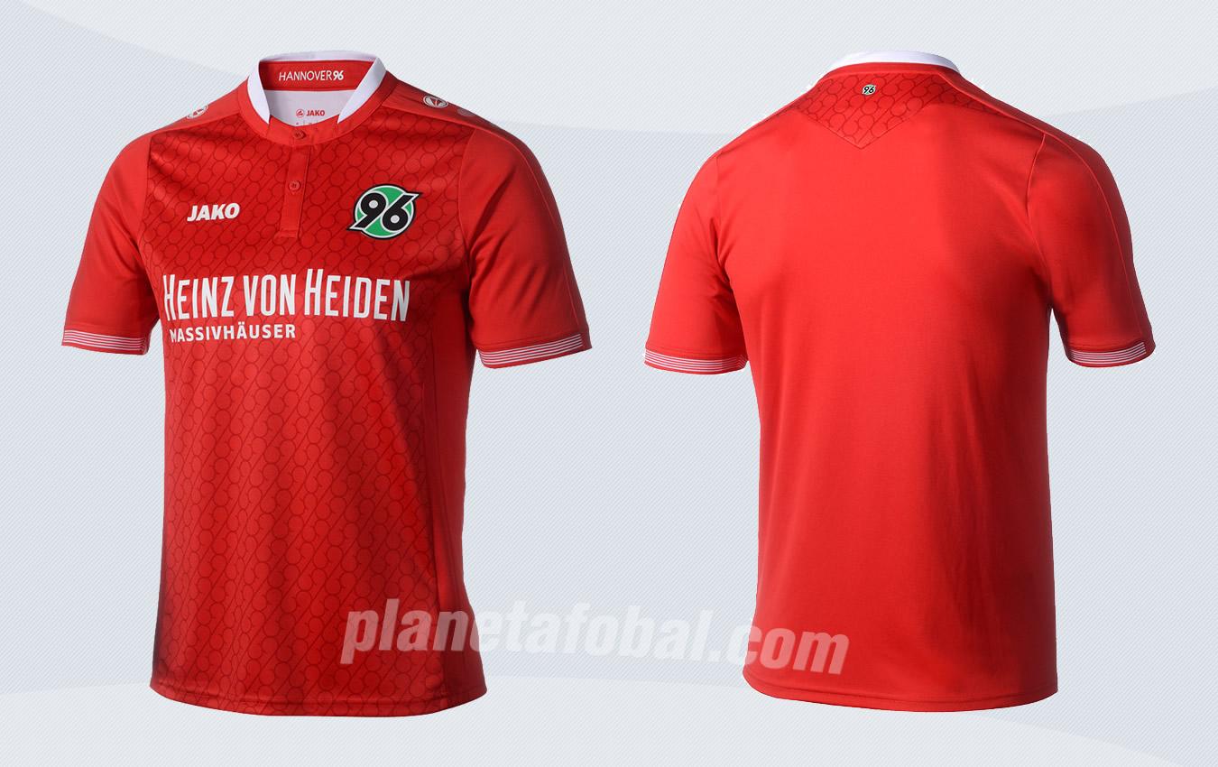 Casaca titular del Hannover 96 | Imágenes Web Oficial