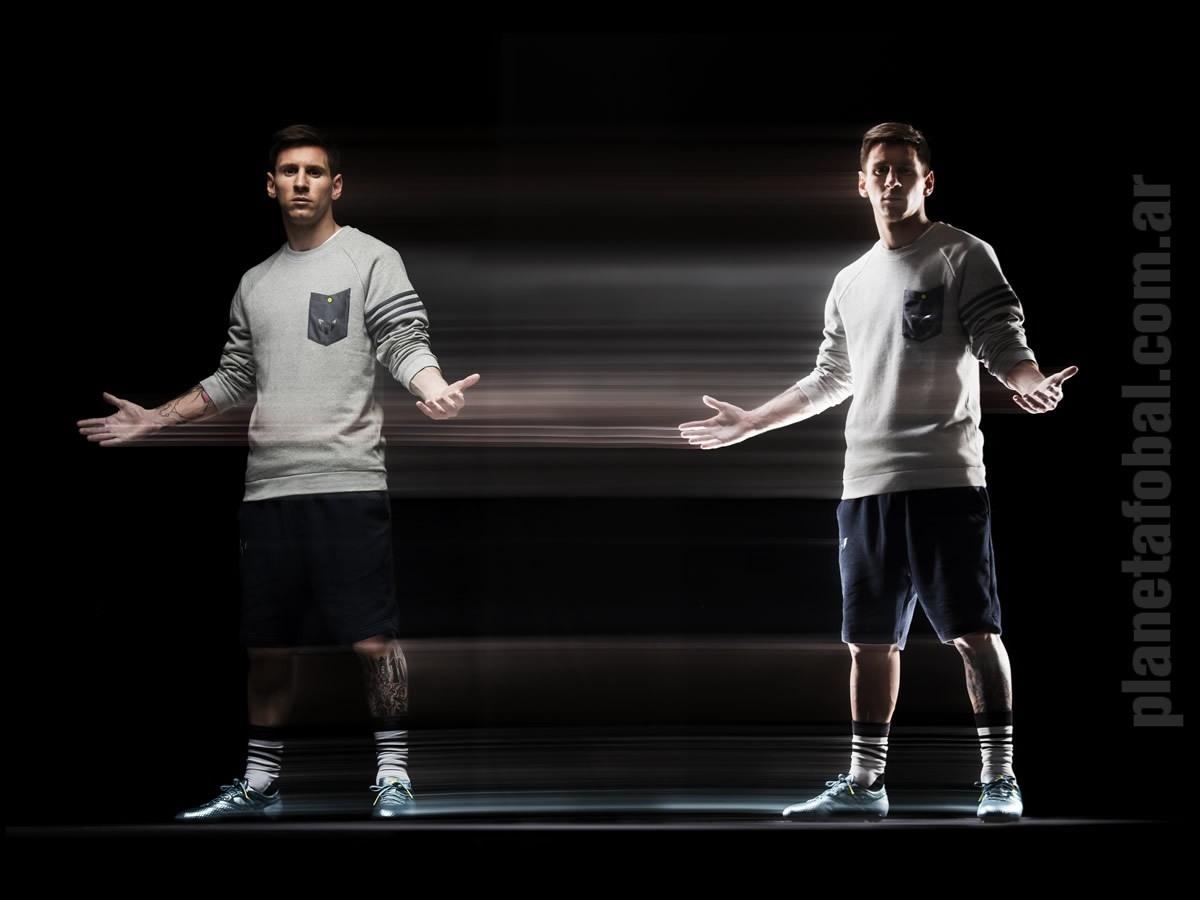 Nueva línea exclusiva de botines MESSI | Foto Adidas