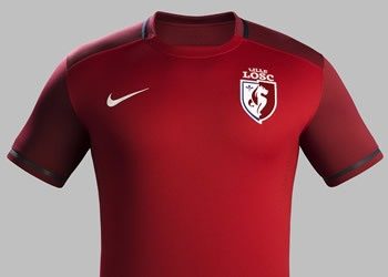 Nueva casaca del LOSC Lille | Foto Nike