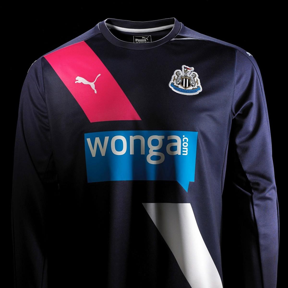 Tercerca casaca del Newcastle | Foto Puma
