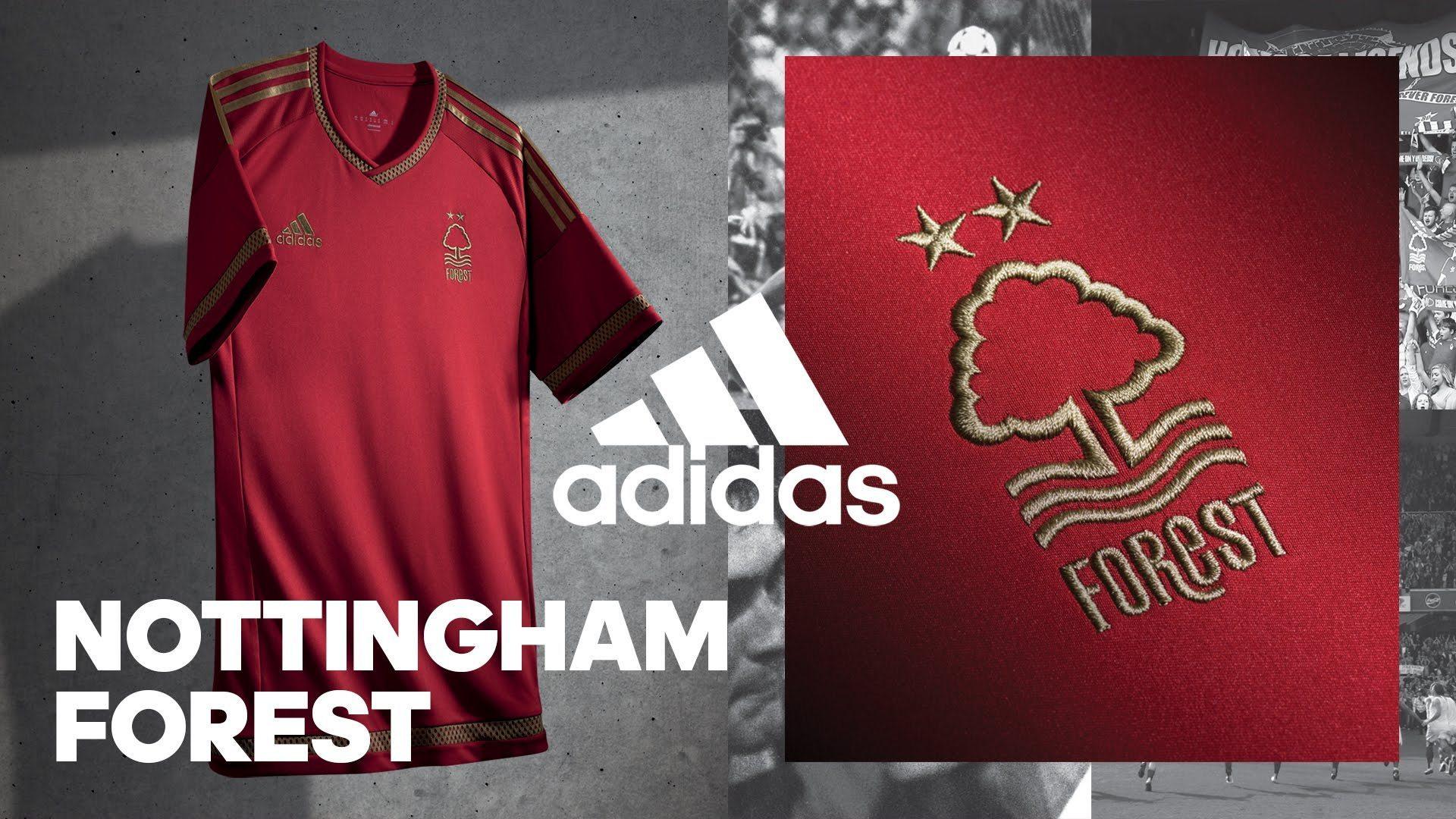Casaca 150 aniversario del Nottingham Forest | Foto Web Oficial