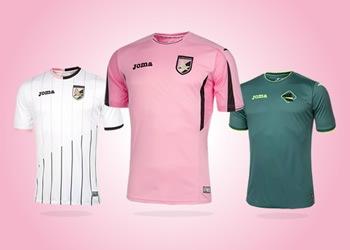 Nuevas casacas del Palermo | Foto Joma