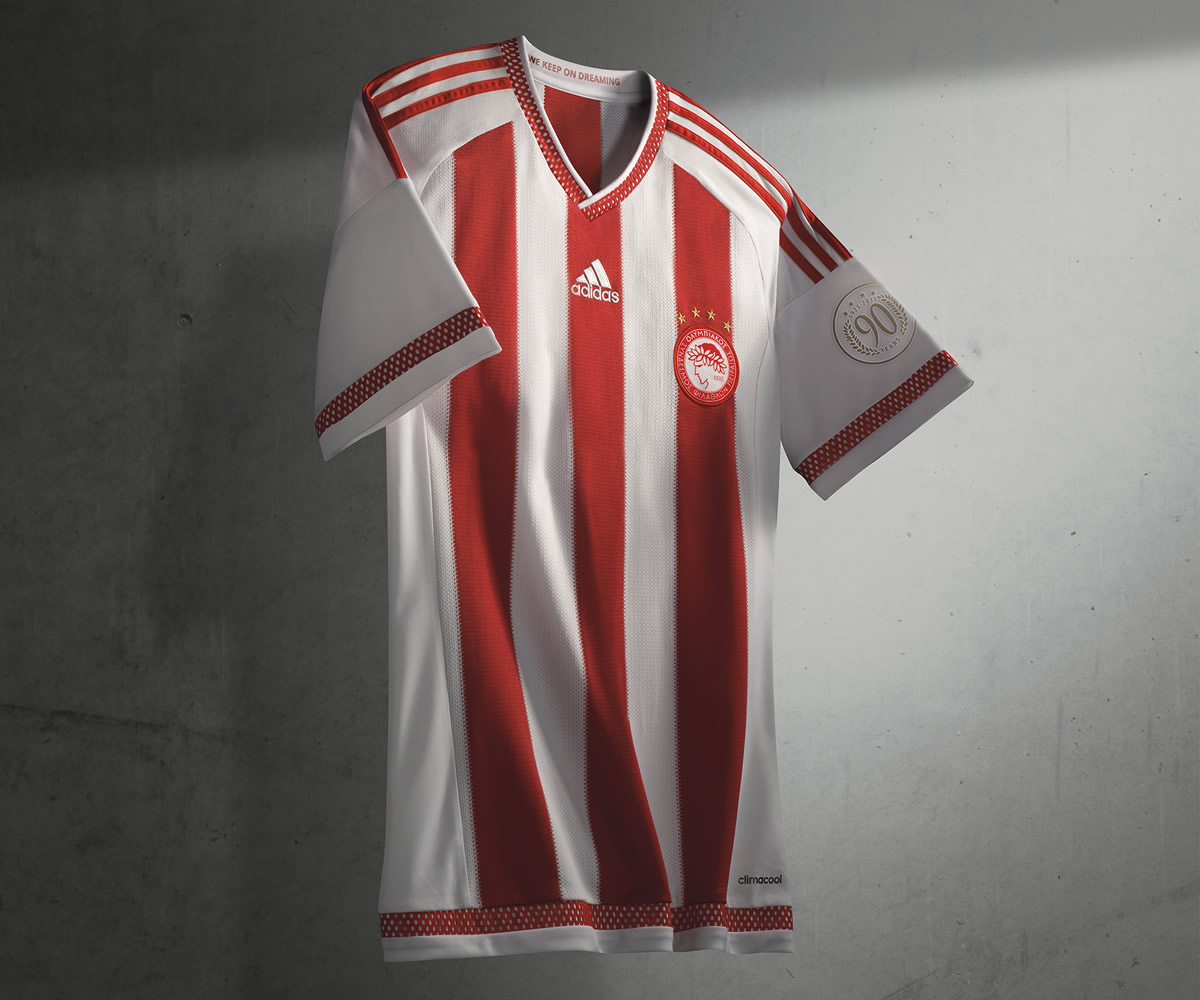 Nueva casaca del Olympiacos | Foto Adidas