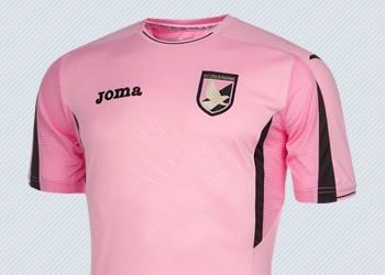 Camiseta titular del Palermo | Foto Joma
