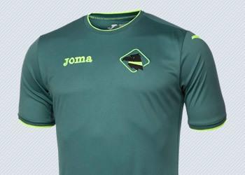 Tercera camiseta del Palermo | Foto Joma