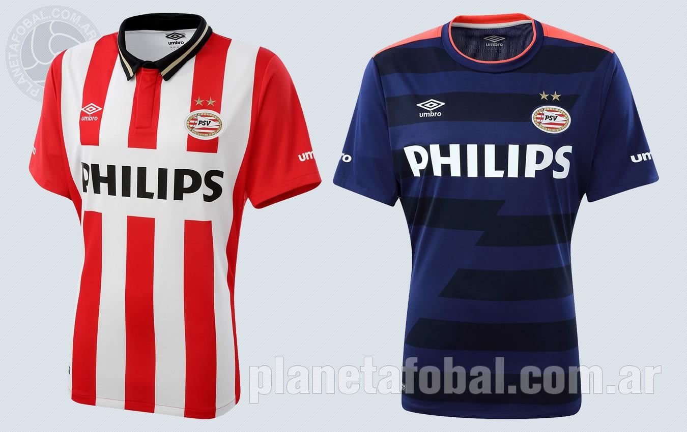 Camisetas Umbro de PSV Eindhoven para 2015/2016 | Imagenes Umbro