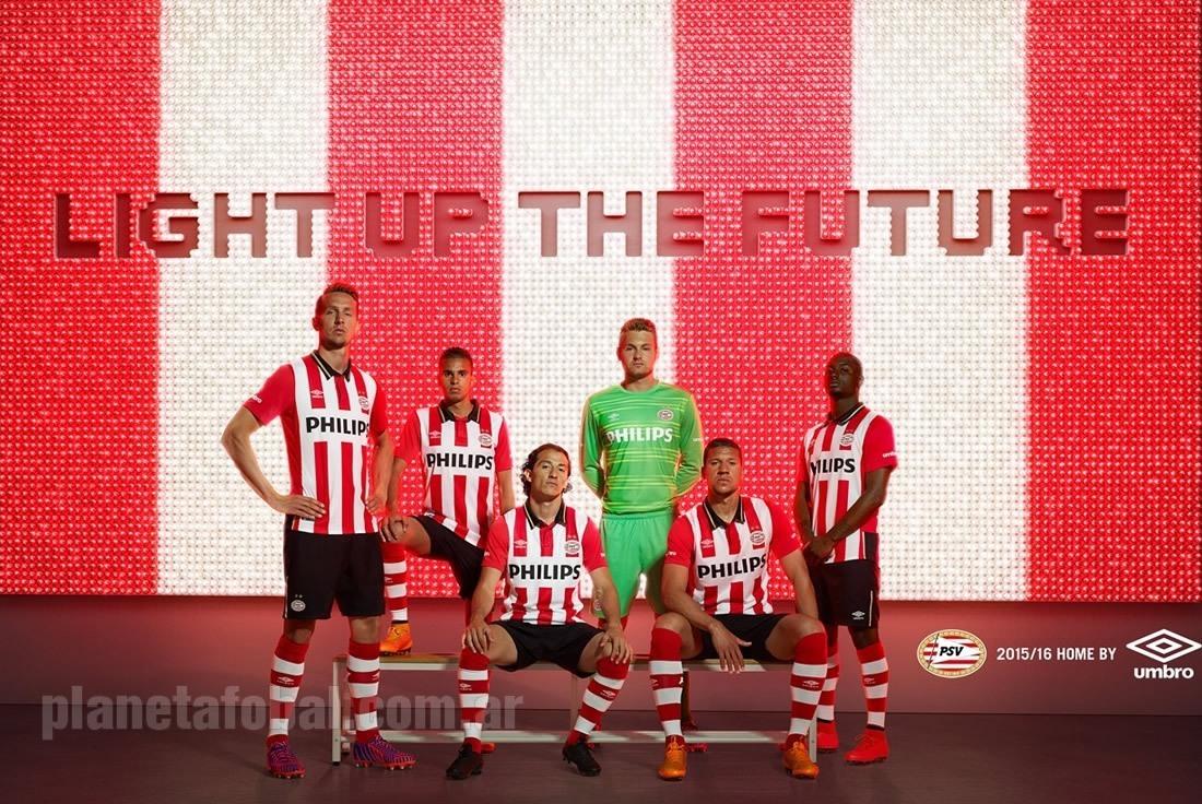 Nueva casaca titular del PSV | Foto Umbro
