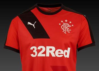 Camiseta suplente del Rangers | Imágenes Web Oficial