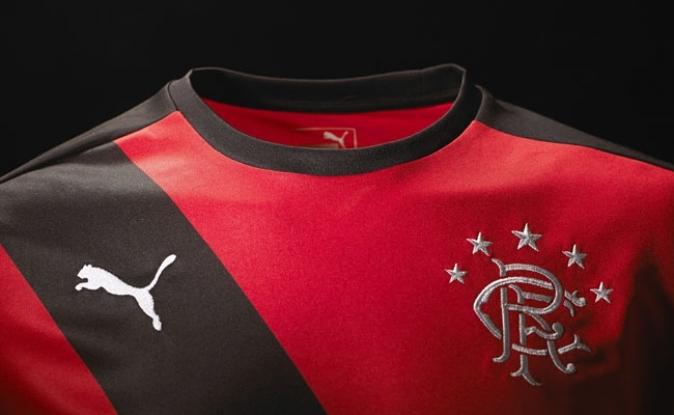 Camiseta suplente del Rangers   Imágenes Web Oficial