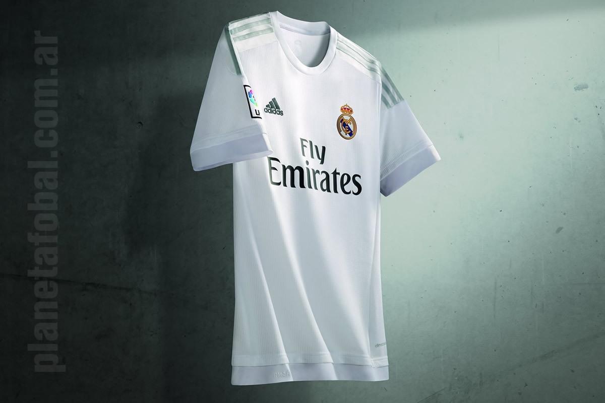 Nueva camiseta titular del Real Madrid | Foto web oficial