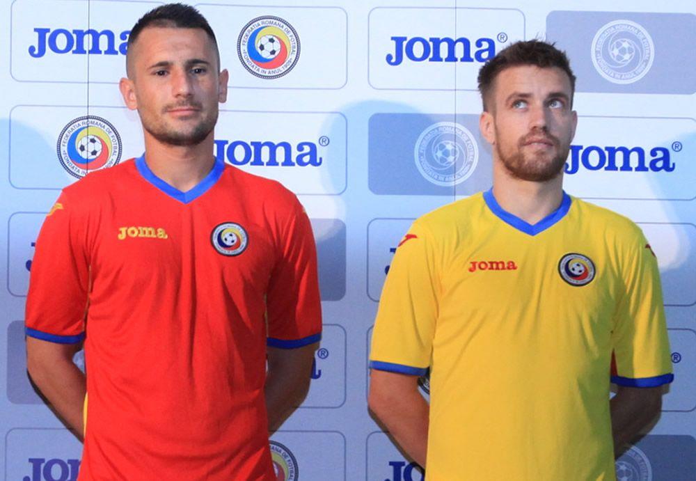 Nuevas casacas de Rumania | Imagen FRF