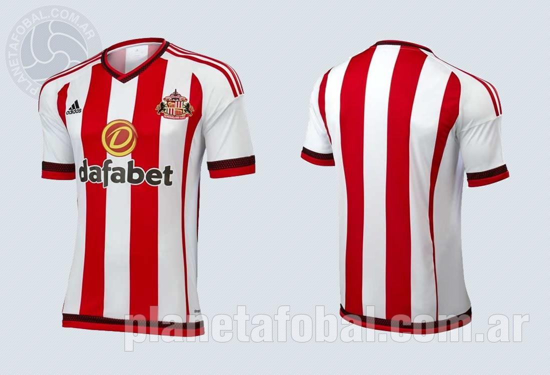 Nueva camiseta del Sunderland | Imágenes Web Oficial