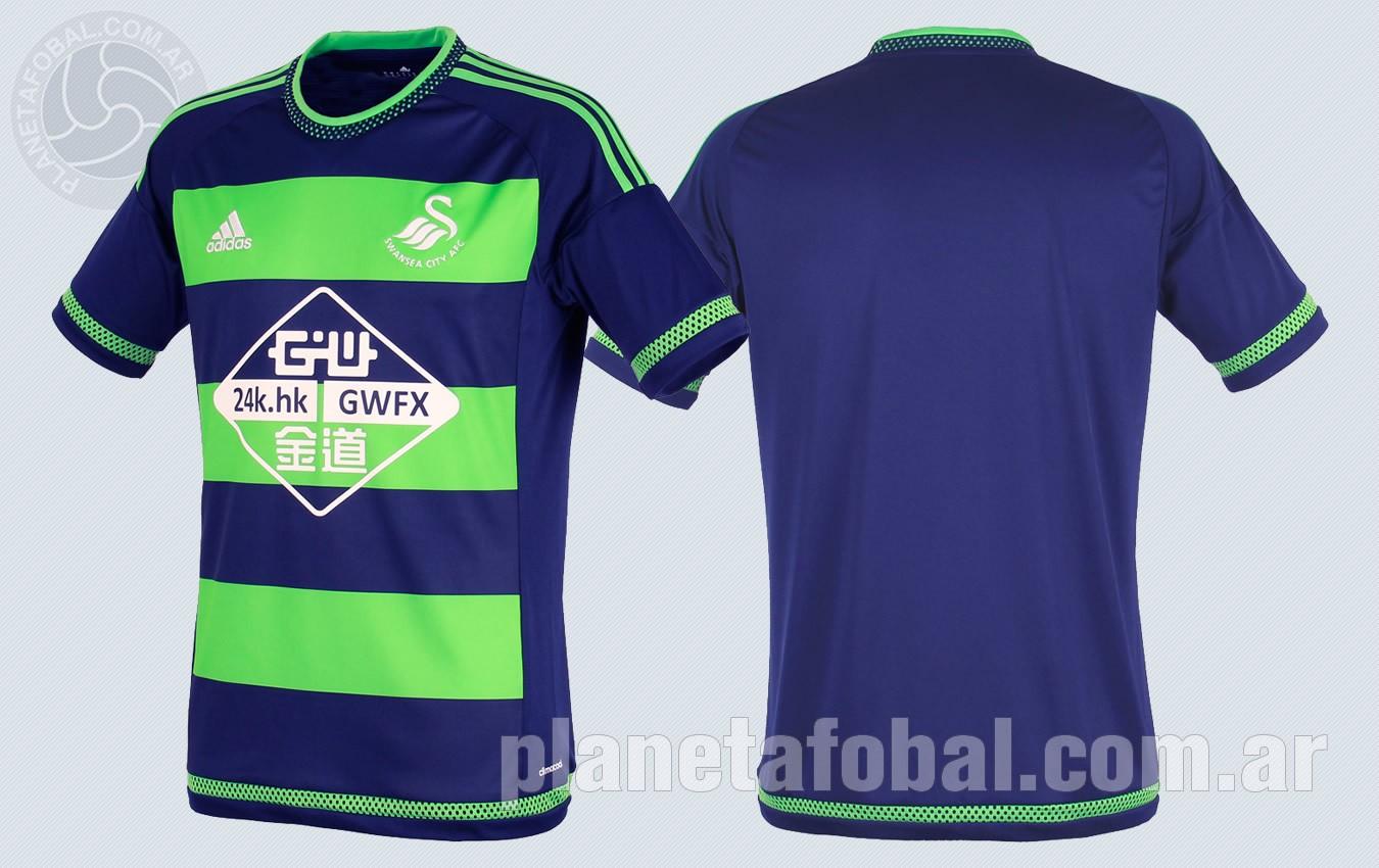 Camiseta suplente del Swansea City | Imágenes Web Oficial