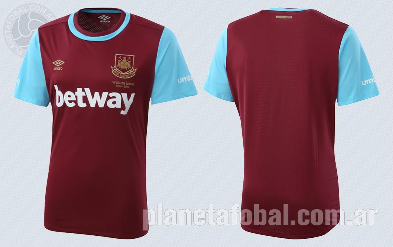 Nueva casaca del West Ham | Imágenes Web Oficial
