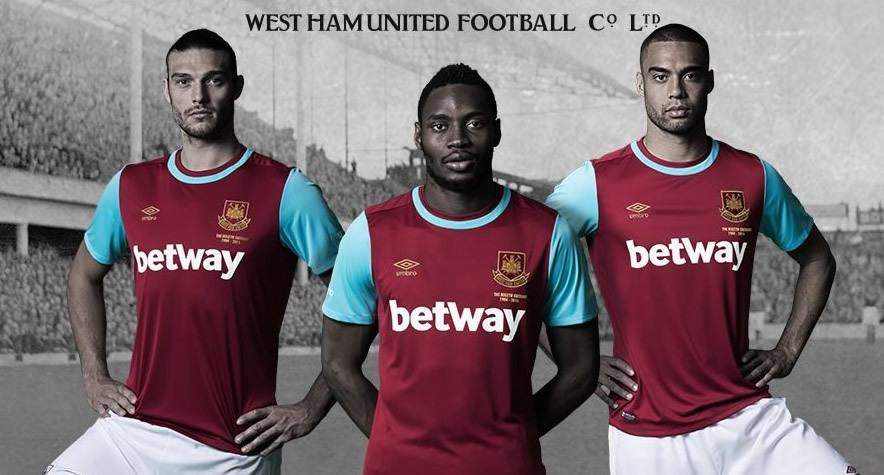 Nueva casaca del West Ham | Foto Web Oficial