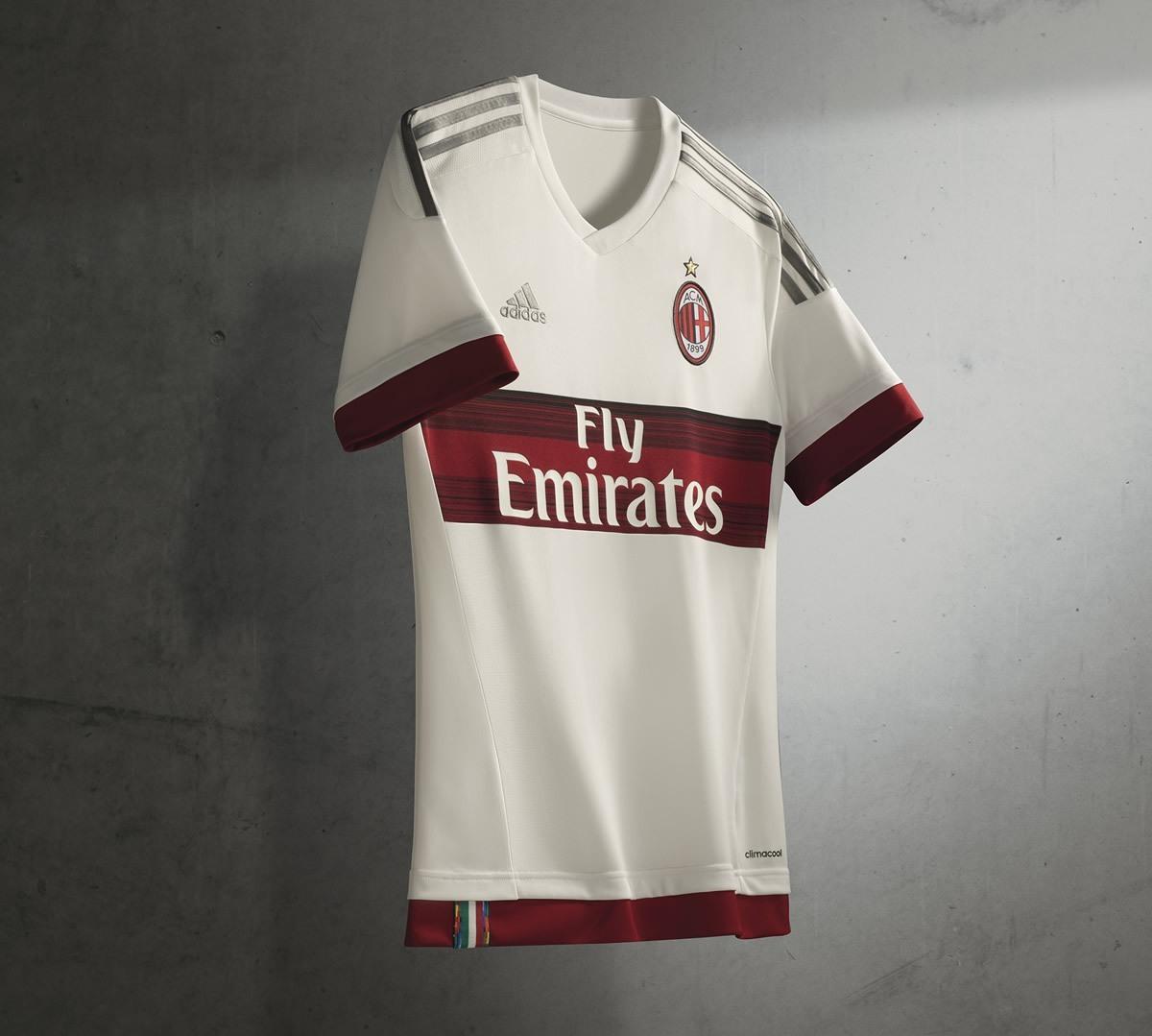 Nueva casaca del Milan | Foto Adidas
